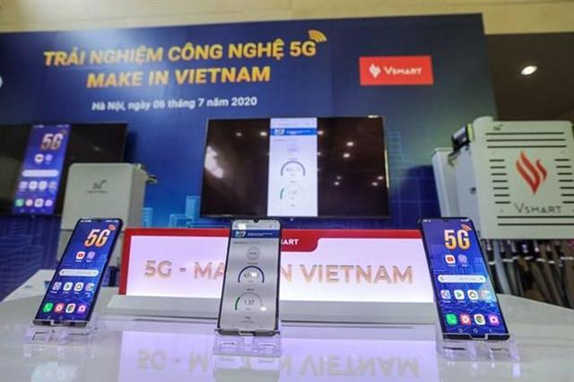 Vinsmart launches first Vietnamese-made 5G-enabled smartphone   Sci-Tech   Vietnam+ (VietnamPlus)