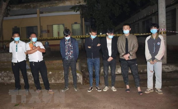 Binh Phuoc quarantines five foreigners entering Vietnam illegally