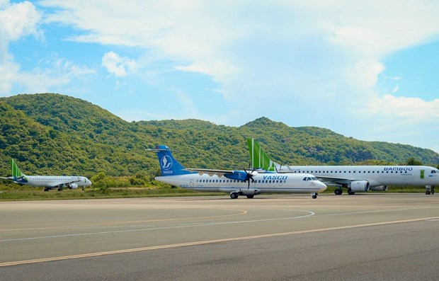 CAAV proposes installing night lighting at Con Dao Airport
