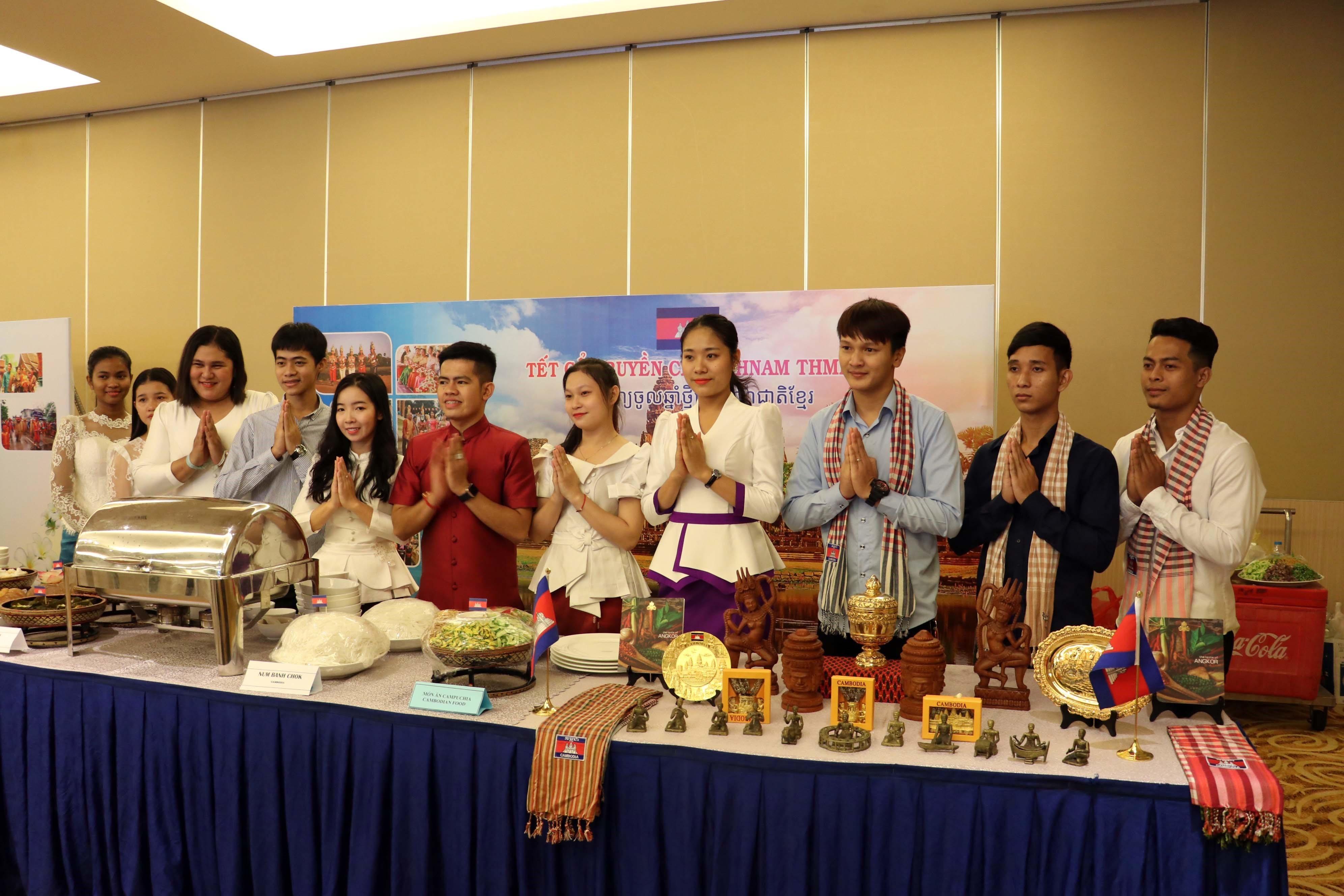 New Year for Cambodia, Laos, Thailand celebrated in Ba Ria-Vung Tau