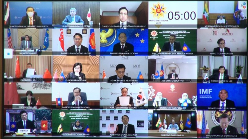 ASEAN+3 expects economic recovery with help of COVID-19 vaccine rollouts