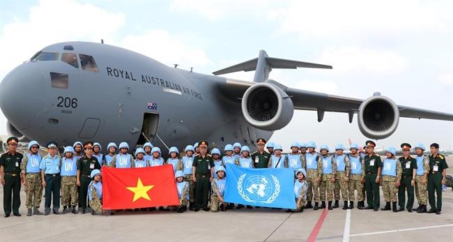 Vietnam, Australia cooperate in UN peacekeeping mission in South Sudan