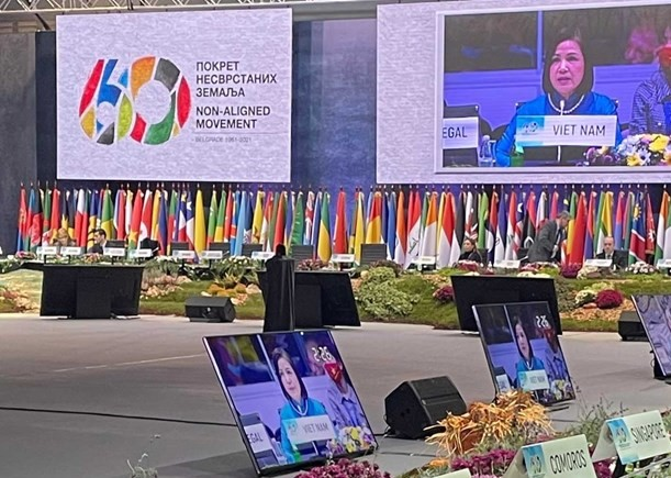 Vietnam calls for multilateral cooperation at Non-Aligned Movement meeting